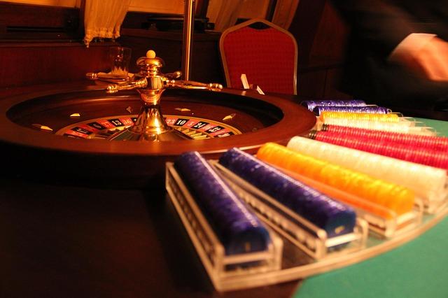 Im Casino spielen